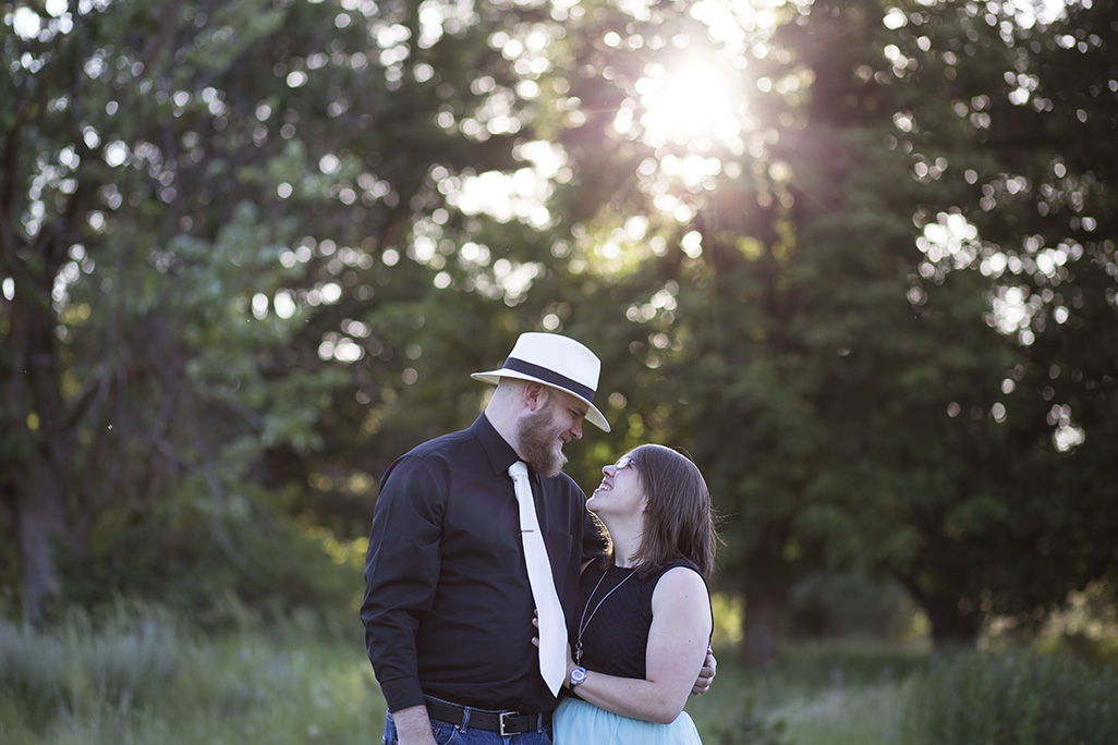 Couple photo shoot in Cheney, WA